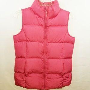 Land's End Girl's Puff Zip Vest